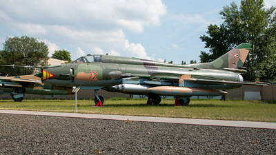 12 - Sukhoi Su-22M3 Fitter - Hungary - Air Force