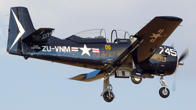 ZU-VNM - North American T-28B Trojan - Private