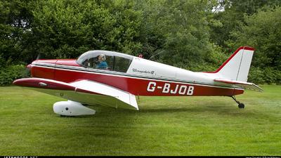 G-BJOB - Jodel D140C Mousquetaire III - Private