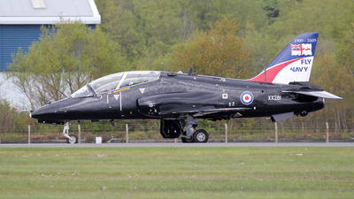 XX281 - British Aerospace Hawk T.1A - United Kingdom - Royal Navy