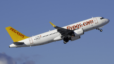A picture of TCNBK - Airbus A320251N - Pegasus Airlines - © Theo Möhle