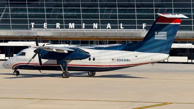 N941HA - Bombardier Dash 8-102 - US Airways Express (Piedmont Airlines)