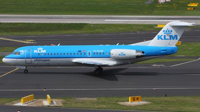 PH-KZW - Fokker 70 - KLM Cityhopper