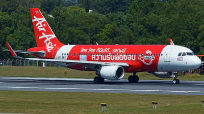 A picture of HSBBH - Airbus A320216 - AirAsia - © SOMPOL JUNLAMART