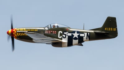 NL357FG - North American P-51D Mustang - Private