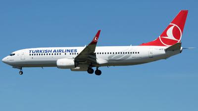 TC-JVT - Boeing 737-8F2 - Turkish Airlines
