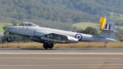 VH-MBX - Gloster Meteor F.8 - Temora Aviation Museum