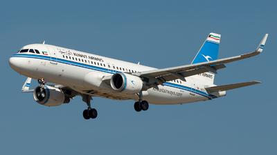 9K-AKG - Airbus A320-214 - Kuwait Airways