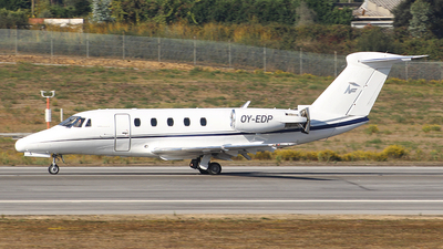 OY-EDP - Cessna 650 Citation III - Private