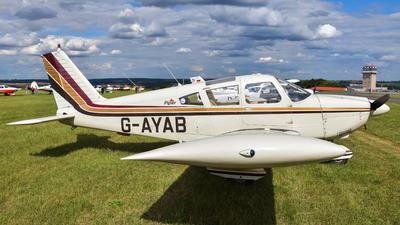 G-AYAB - Piper PA-28-180 Cherokee E - Private
