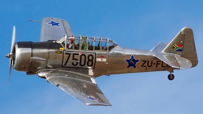 ZU-FLM - North American T-6 Harvard - Private