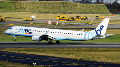 A picture of GFBEI - Embraer E195LR - [19000143] - © tianqi yao