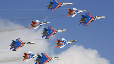 20 - Sukhoi Su-27 Flanker - Russia - Air Force