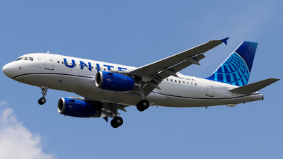 A picture of N873UA - Airbus A319132 - United Airlines - © Pepe Ancira
