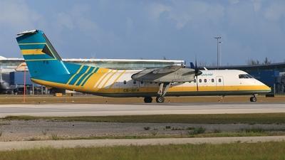 A picture of C6BFH - De Havilland Canada Dash 8300 - [291] - © Davide Galli