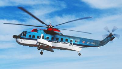 OY-HDZ - Sikorsky S-61N - Greenlandair