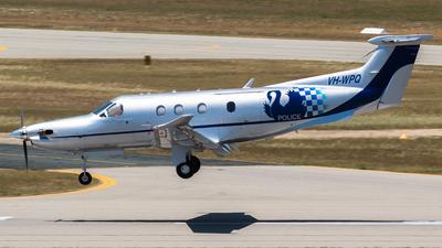 A picture of VHWPQ - PilatusPC12/47E - [1394] - © Dallas Presser