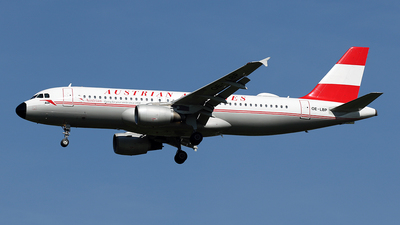 OE-LBP - Airbus A320-214 - Austrian Airlines