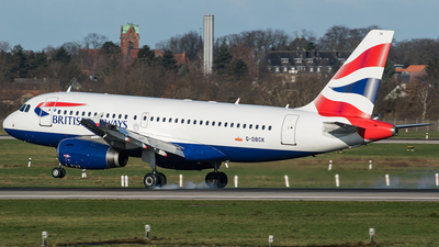 A picture of GDBCK - Airbus A319131 - British Airways - © Oliver Sänger