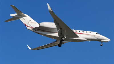 N758CX - Cessna 750 Citation X - Private