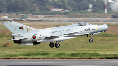 F939 - Chengdu F-7BG - Bangladesh - Air Force
