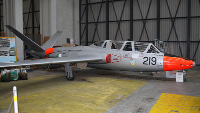 219 - Fouga CM-170 Magister - Ireland - Air Corps