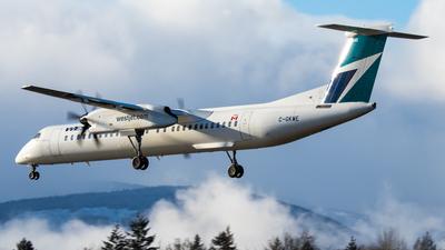 A picture of CGKWE - De Havilland Canada Dash 8400 - WestJet - © CJMAviation