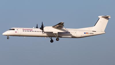 A picture of DABQQ - De Havilland Canada Dash 8400 - [4198] - © Max Sutter