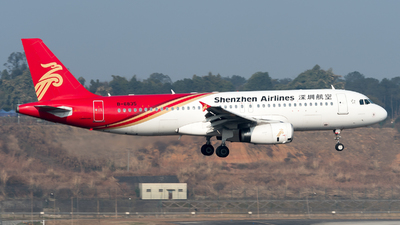 A picture of B6835 - Airbus A320232 - Shenzhen Airlines - © ShirokaneRinko