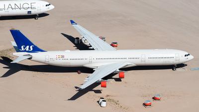OY-KBA - Airbus A340-313 - Scandinavian Airlines (SAS)