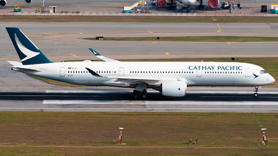 A picture of BLRX - Airbus A350941 - Cathay Pacific - © Ka Hung Yue