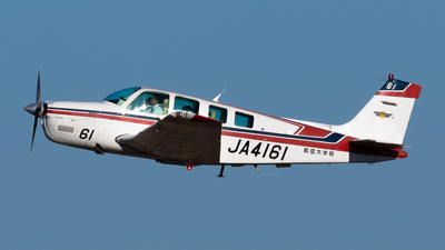 JA4161 - Beechcraft A36 Bonanza - Japan - Civil Aviation College