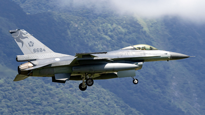 6684 - General Dynamics F-16AM Fighting Falcon - Taiwan - Air Force