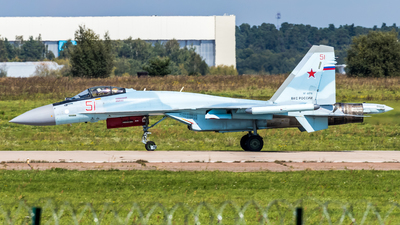 RF-81718 - Sukhoi Su-35S - Russia - Air Force