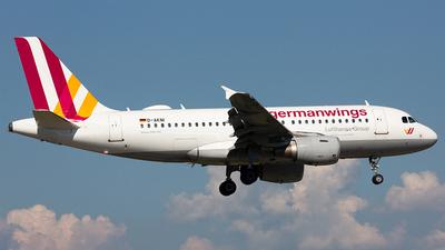 D-AKNI - Airbus A319-112 - Germanwings