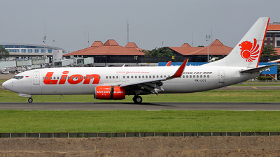PK-LOI - Boeing 737-8GP - Lion Airlines