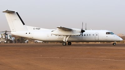 A picture of CFIQT - De Havilland Canada Dash 8300 - United Nations - © Johan Havelaar
