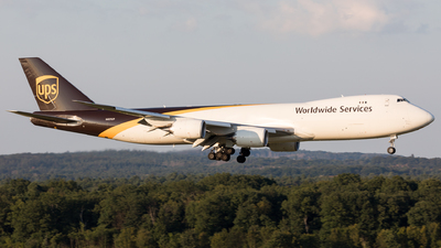 A picture of N621UP - Boeing 7478F - UPS - © Sierra Aviation Photography