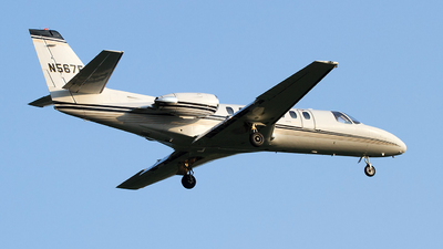 N567F - Cessna 560 Citation V - Private