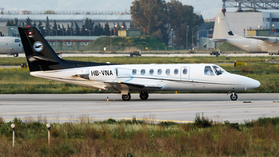 HB-VNA - Cessna 560 Citation Ultra - Private