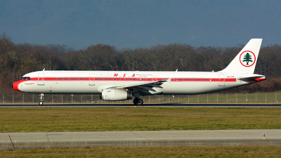 OD-RMI - Airbus A321-231 - Middle East Airlines (MEA)