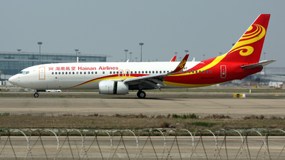 B-1487 - Boeing 737-84P - Hainan Airlines