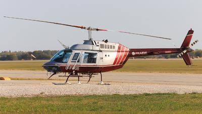 C-FWGS - Bell 206B JetRanger - Prairie Aviation Training Centre