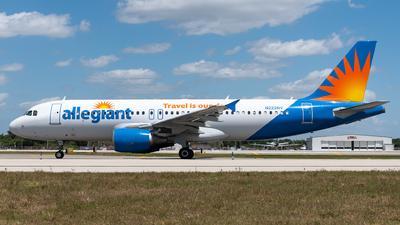 N222NV - Airbus A320-214 - Allegiant Air