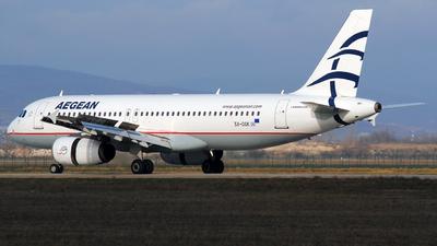SX-DGK - Airbus A320-232 - Aegean Airlines