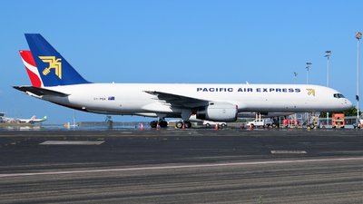 VH-PQA - Boeing 757-225(SF) - Pacific Air Express