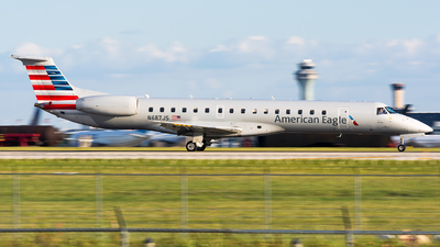 A picture of N687JS - Embraer ERJ145LR - American Airlines - © Kevin Cargo
