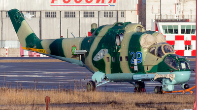 29 - Mil Mi-24 Hind - Turkmenistan - Air Force