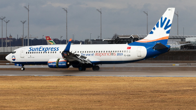 A picture of TCSOR - Boeing 7378AS - SunExpress - © Moritz Babl