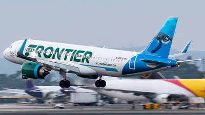 A picture of N368FR - Airbus A320251N - Frontier Airlines - © Ricky Teteris
